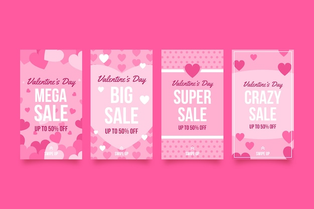 Promotional sales on valentines day