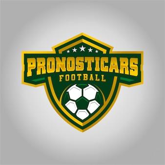 Pronosticars football esport logo