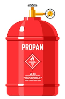 Propane flammable energy in tank with pressure
