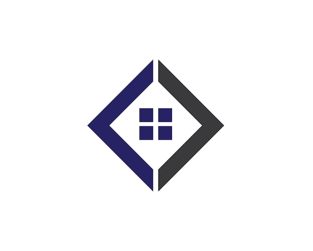 プロパティと建設ロゴ