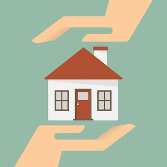 Property insurance and security concept.