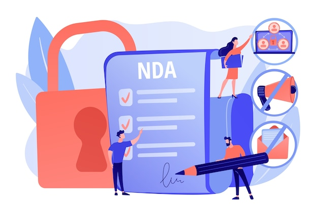 Proprietary information document. nda contract
