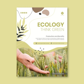Protect the environmental flyer template