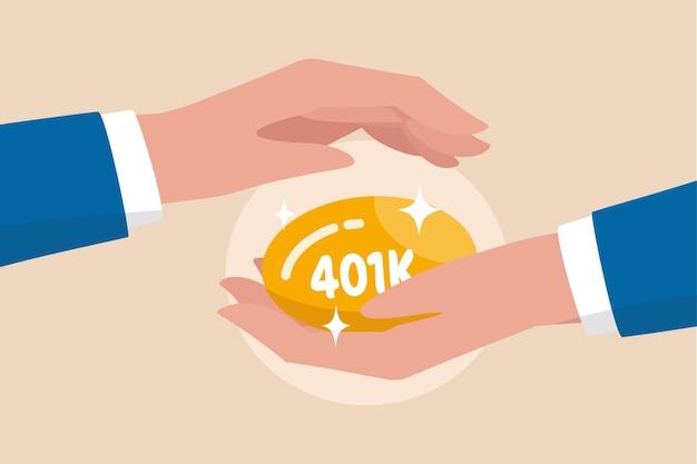 경제 위기에서 401k 보호