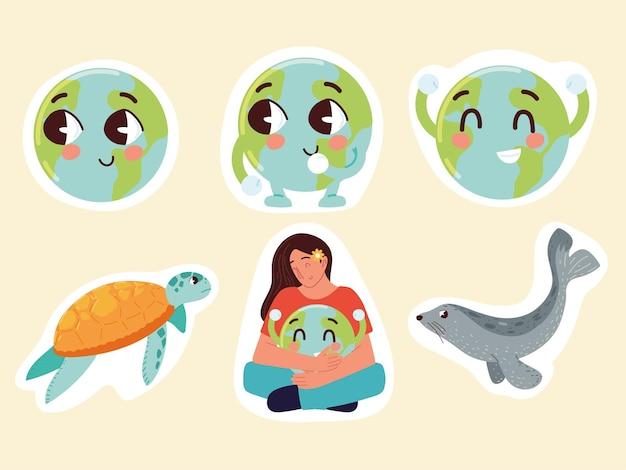 保護された惑星と環境