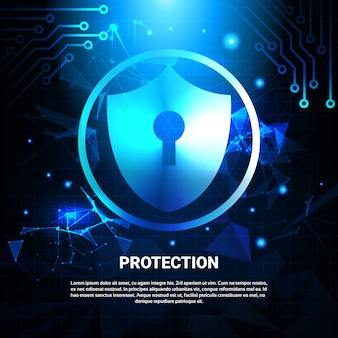 Protection of data banner