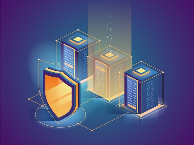Protection network security and safe your data