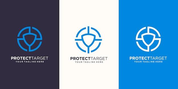 保護対象のロゴデザインテンプレート