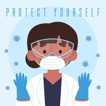 Концепция защитных перчаток