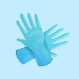 Protective gloves design