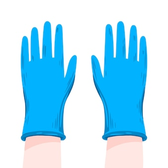 Protective gloves for prevention