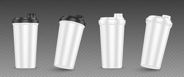 Tazza shaker proteica per l'alimentazione sportiva