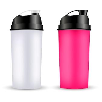 Protein shaker design template
