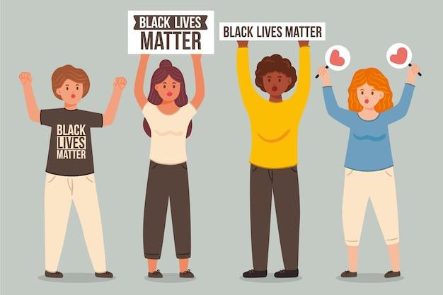 人種差別の概念に対する抗議