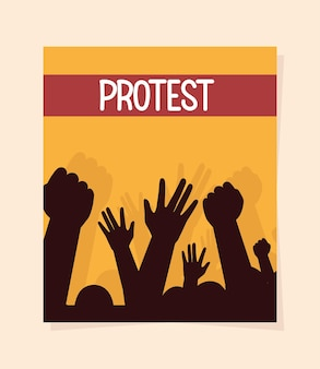 抗議者イベント