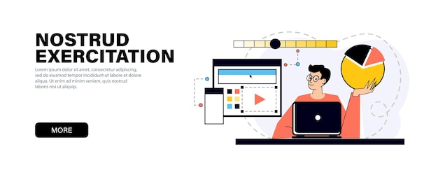 Prototyping process concept in modern flat colors for website and mobile website development on the topic of modern graphic design process. graphic designer items and tools
