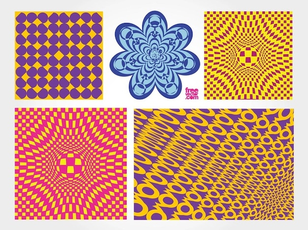 Psychedelic graphic pack