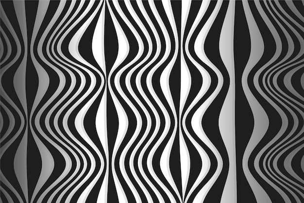 Psychedelic optical illusion wallpaper style