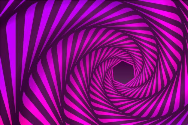 Психоделический оптический иллюзионный фон