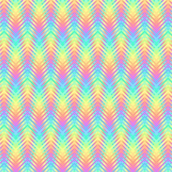 Psychedelic wavy stripes pattern