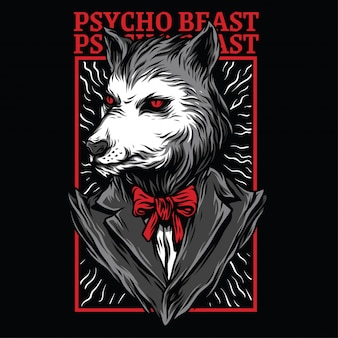 Psycho beast illustration