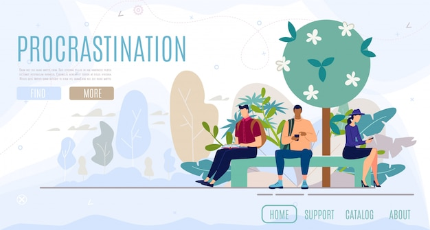 Psychological consultation flat vector web banner