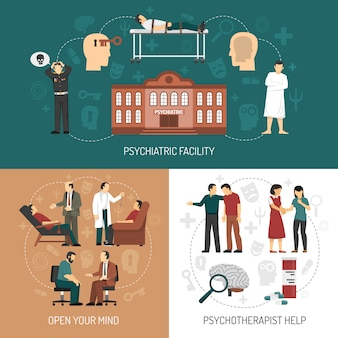 Psychologist design concept