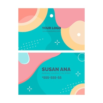 Psychology business card template