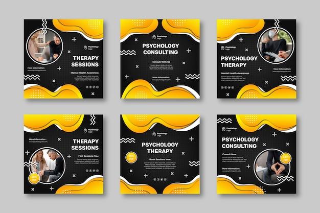 心理学のインスタグラム投稿コレクション