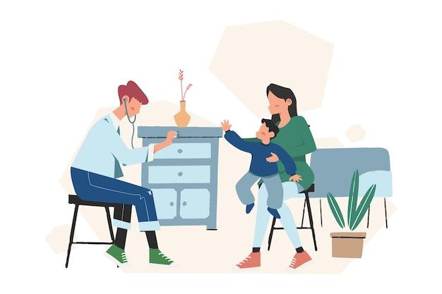 아동 개념에 대한 심리 치료 상담, 가족 심리학자와의 치료 세션