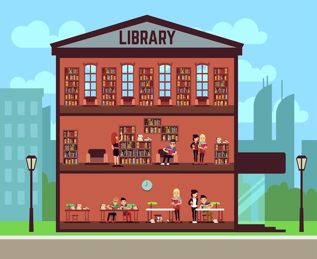 Public library concept