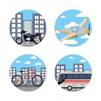 Public transport vehicles