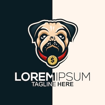Pug logo design