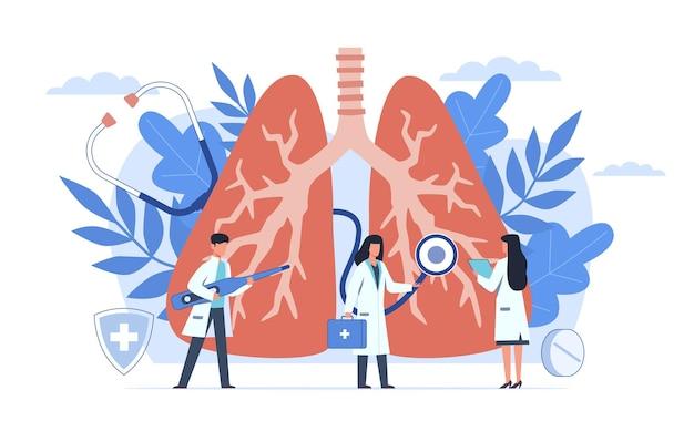 Pulmonology and respiratory system examination, tuberculosis diagnosis