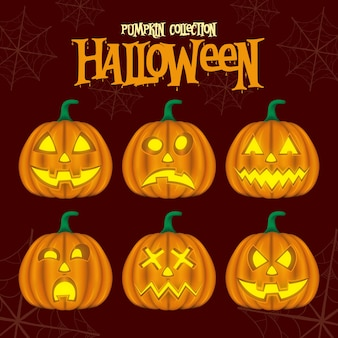 Pumpkin collection hallowen