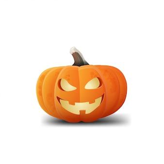 Pumpkin jack isolated