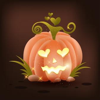 Pumpkin love halloween