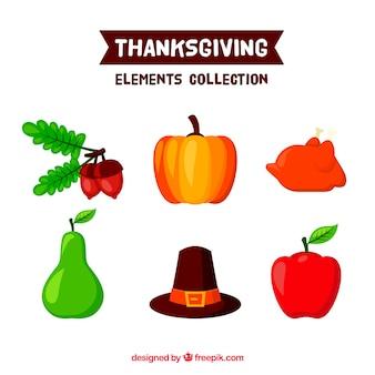 Zucca e altri elementi di ringraziamento