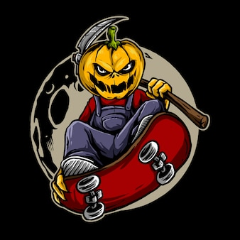 Pumpkin skate