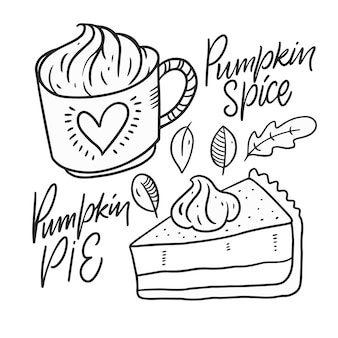 Тыквенные специи и тыквенный пирог