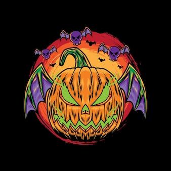 Pumpkin x bat디자인l