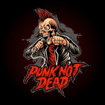 Punk not dead illustration