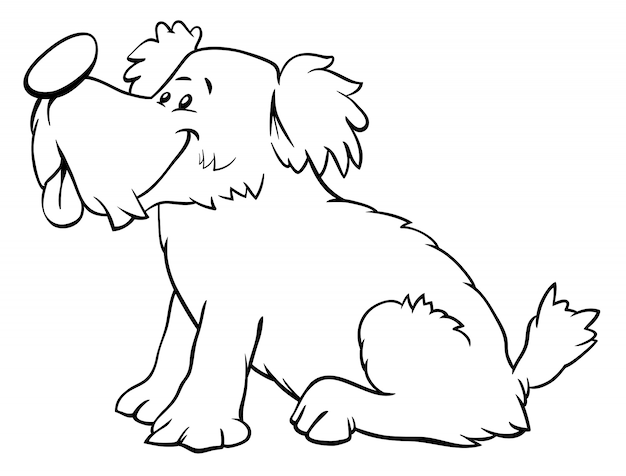 Окраска персонажа щенка