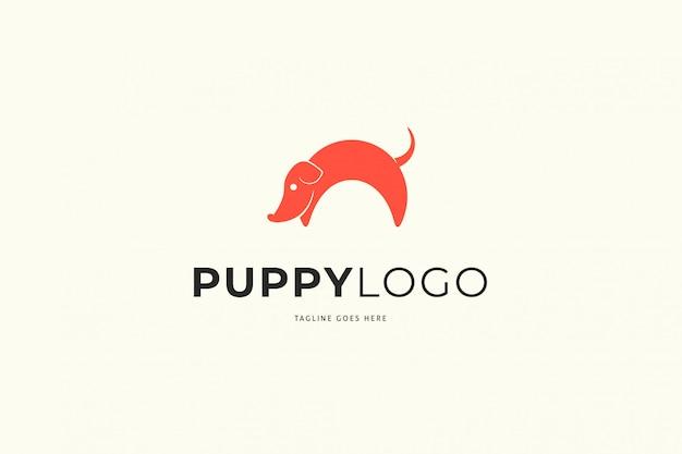 Логотип щенка