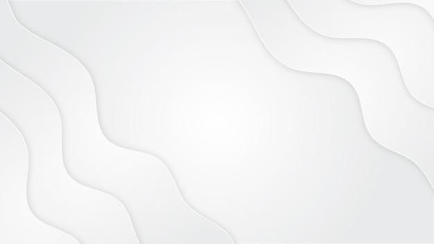 Pure white background shape