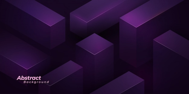 Purple 3d background.