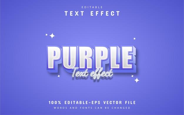 Purple 3d style text effect design