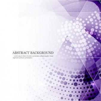 ハーフトーンスタイルで紫色の抽象的な背景