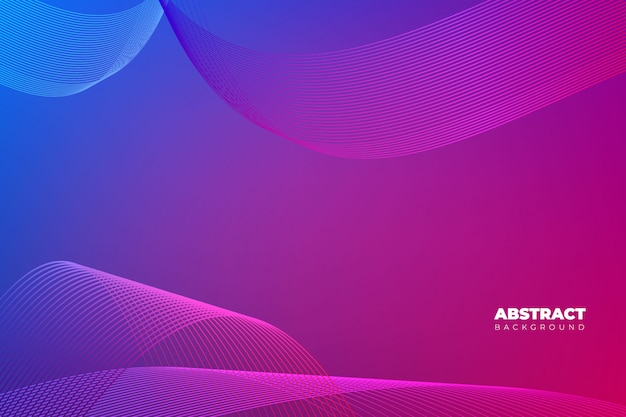 Purple abstract background with modern style