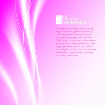 Purple abstract background with text sample template